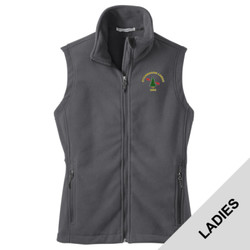 L219 - B101E001 - EMB - Ladies Fleece Vest
