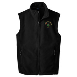 F219 - B101E001 - EMB - Fleece Vest