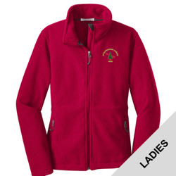 L217 - B101E001 - EMB - Ladies Fleece Jacket